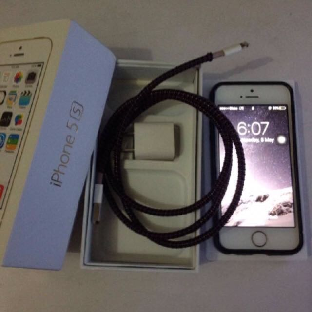 Iphone 5s 16gb No Issue FU 7,500