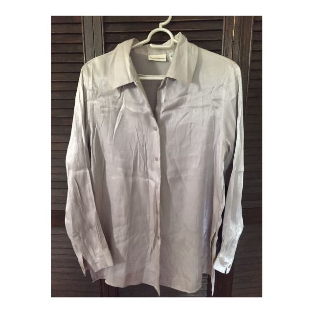 Jaclyn Smith Button Down Top