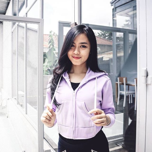 Jaket Crop Top