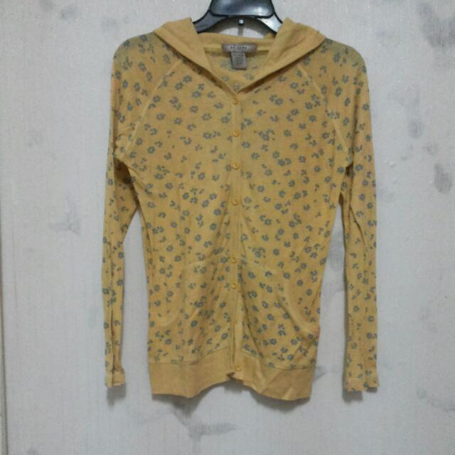Jaket Sweater Kuning