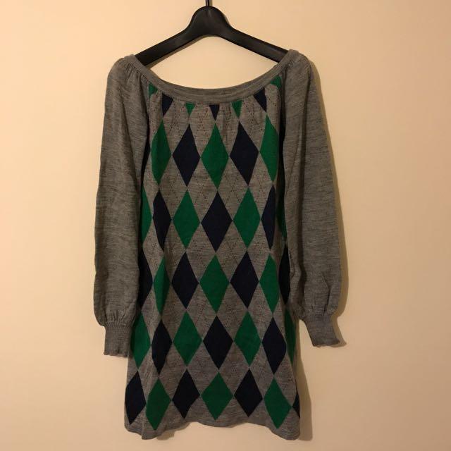 Japanese Brand Love Boat Knit Dress