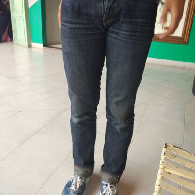 Jeans Selvedge No Brand, Size 30