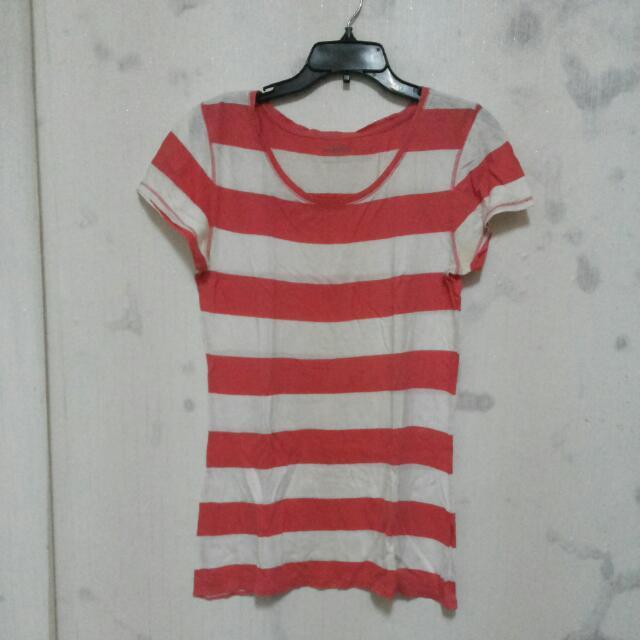 Kaos Belang Pink Putih