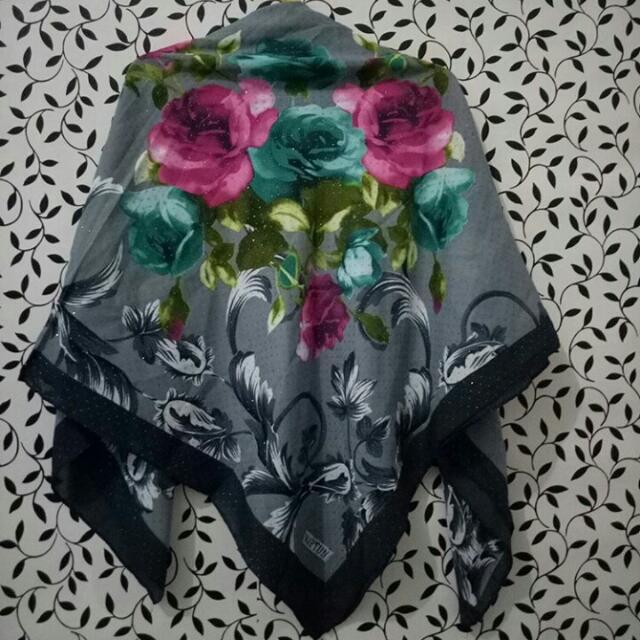 Kerudung Flower Premium