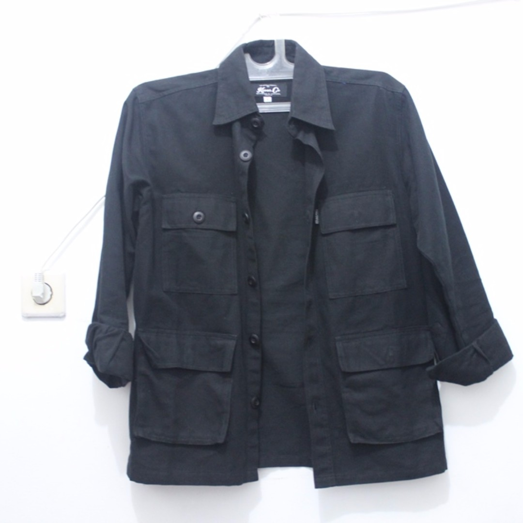 Kevas.co Hepburn Jacket Black