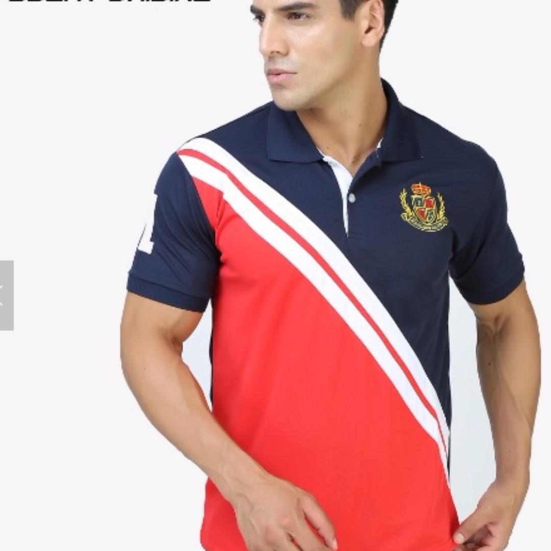 Lacosta Golf Custom Mens Polo Shirt Short Sleeve Mens Fashion