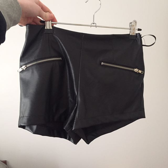 Leather Shorts BNWT