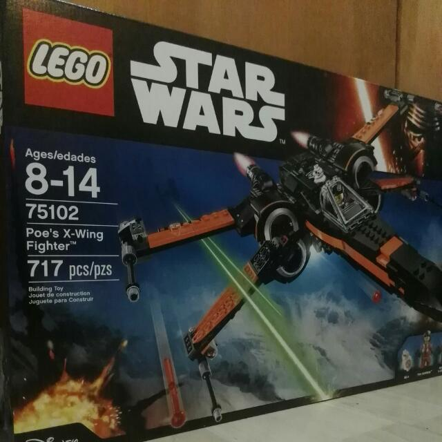 Lego Poe's Star Wing Fighter75102uobpaynow Wars X UVpzMS
