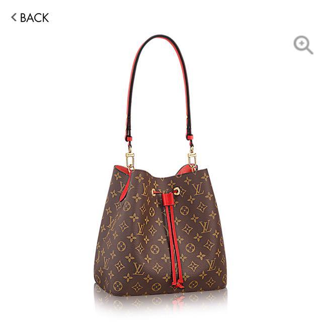LV Louis Vuitton Neo Noe Bucket Bag 668bc2239