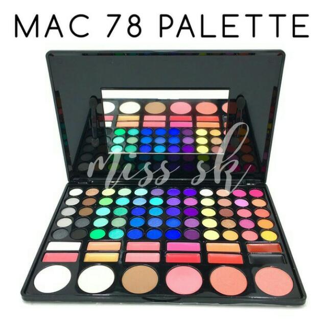 Make Up Mac Pallete78 Colour