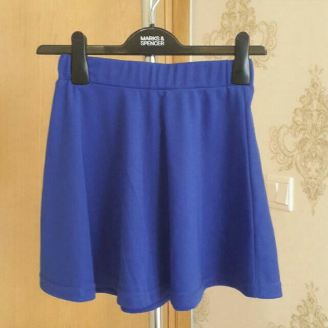 Mini Blue Skirt