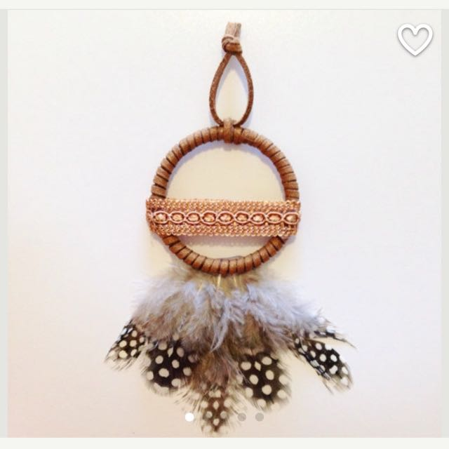 Mini Dreamcatcher - Handmade (Red, Turquoise, Gold, Silver)