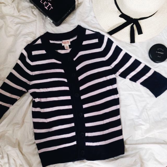Mossimo Stripes Cardigan