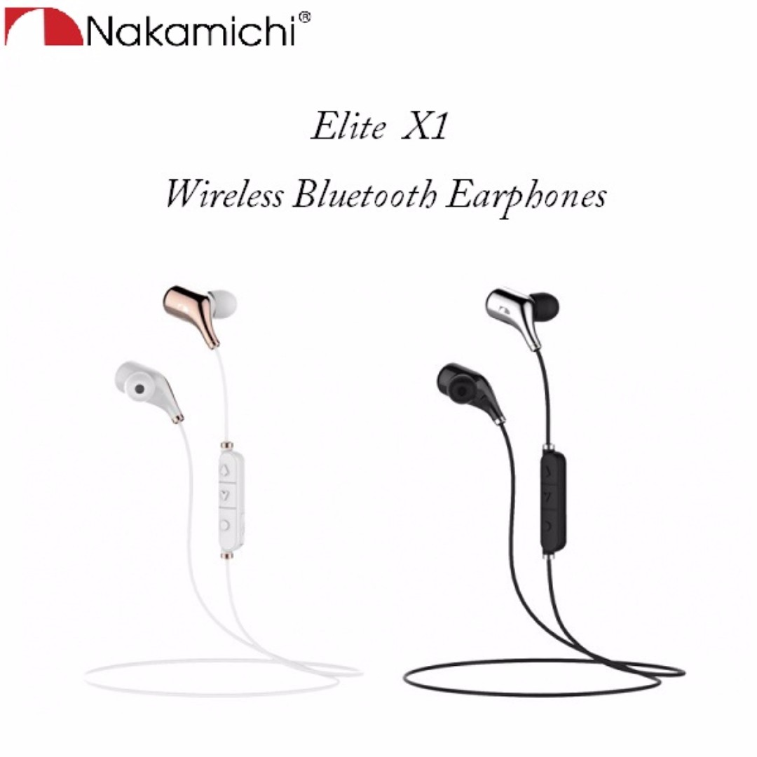ef62636defd Nakamichi Elite X1 Wireless Bluetooth In-Ear Earphone, Electronics, Audio  on Carousell