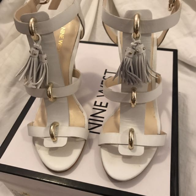 Nine West White Size 7.5