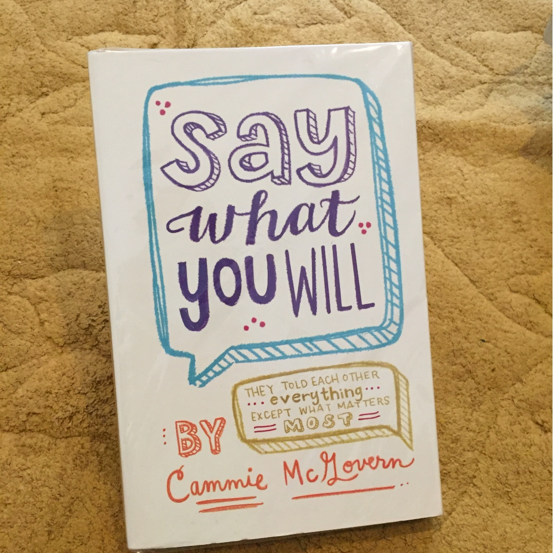novel romance import new/baru say what you will