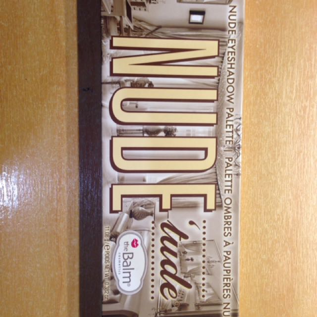 Nuditude -The Balm Palette