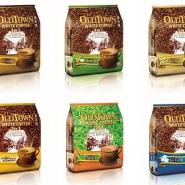 Old Town White Coffee All Variant