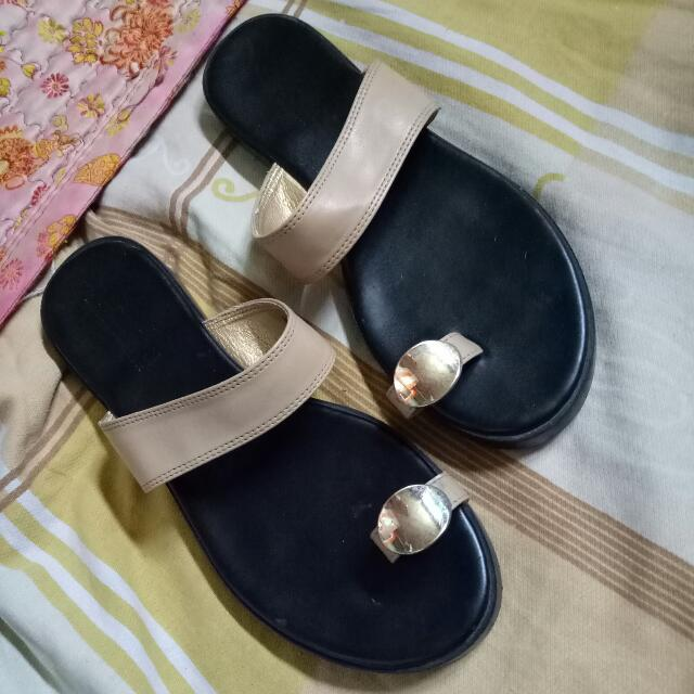 Parisian (Not So) Flat Sandals