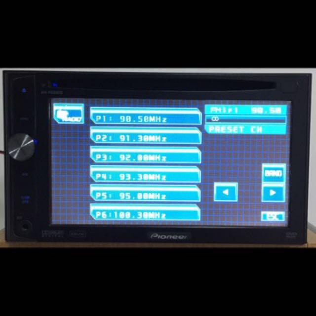 Pioneer AVH-P4050DVD Double Din DVD / CD Multimedia AV Receiver with ...