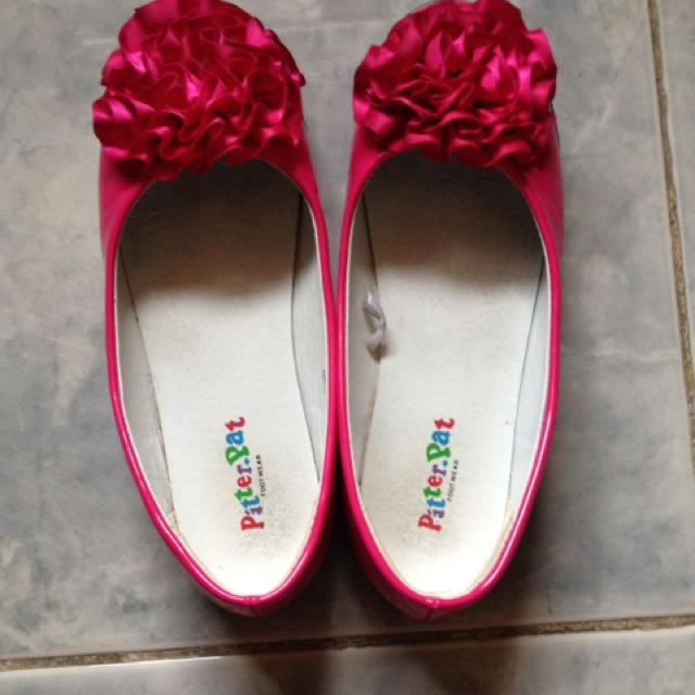 Pitter pat 6-7t (pink shoes)