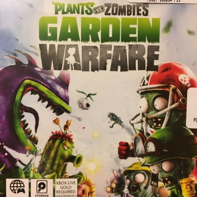 Plants Vs Zombies (garden Warfare), Kinect Adventures and Just Dance 3