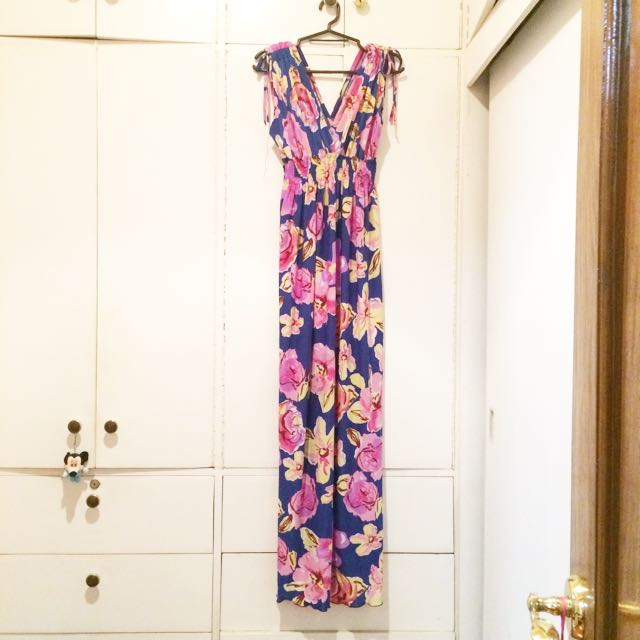Pre Loved Floral Maxi Dress
