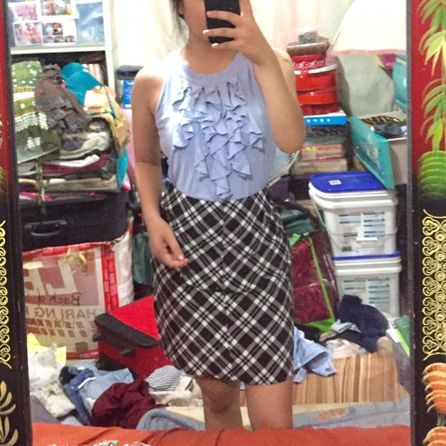 Preloved Skirt And Top