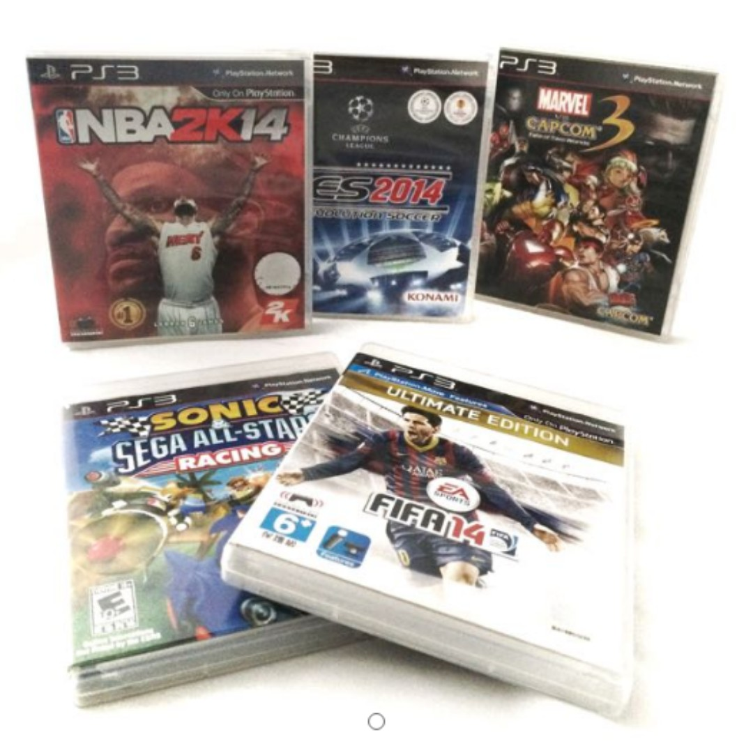 PS3 Video Game Bundle