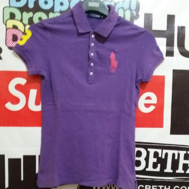 Purple Polo Shirt Original