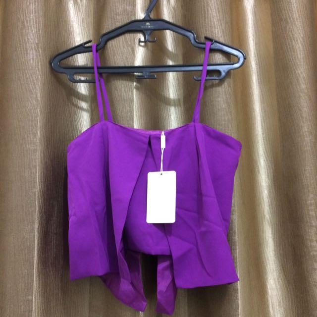 Purple Summer Top