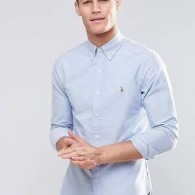 Ralph Lauren Oxford Shirt Men's Light Blue