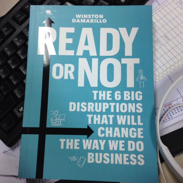 Ready Or Not Book By Winston Damarillo