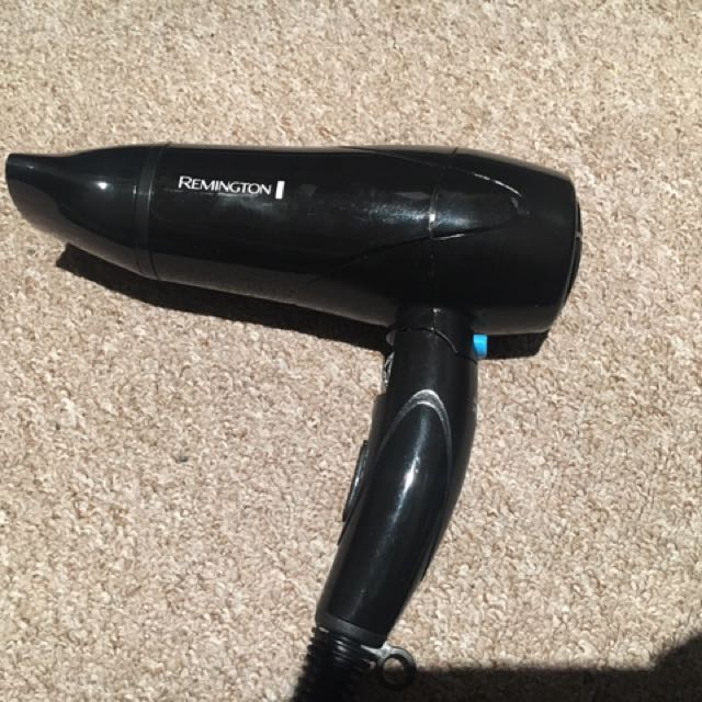 Remington kit  Blow dryer, Hair Straightener With Bag