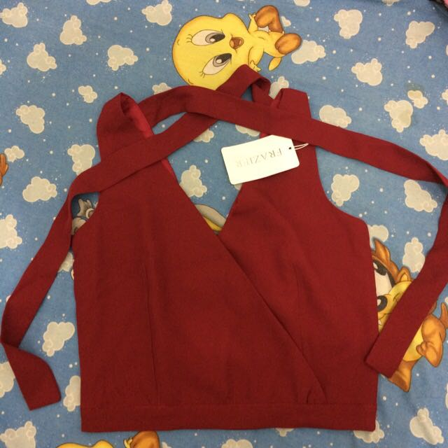 REPRICE ! Red Bow Top
