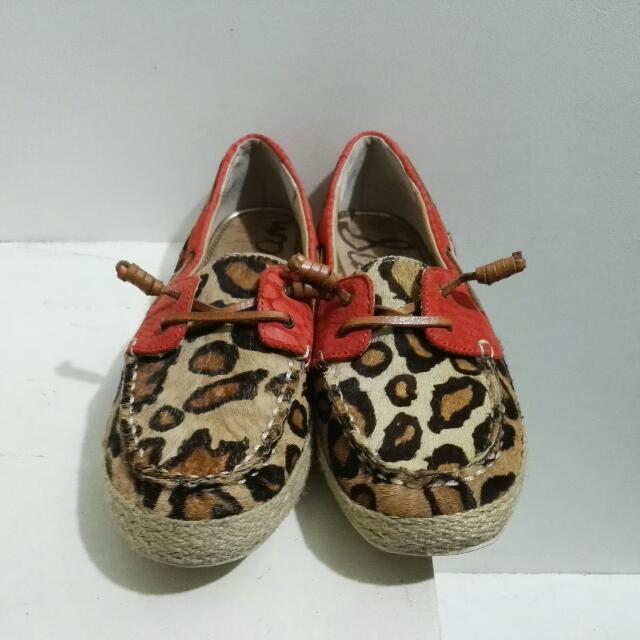 52521b566024 Sam Edelman Leopard Print Leather Loafers for Women (Size  8)  ON ...