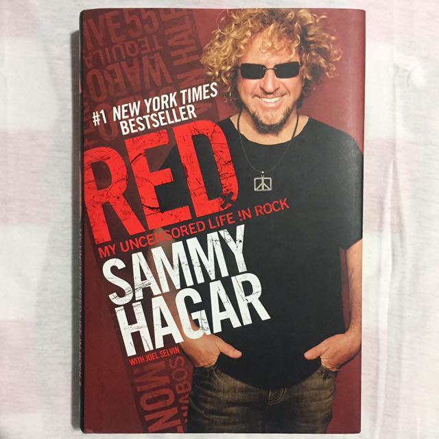 Sammy Hagar - Van Halen autobiography (Hardbound)