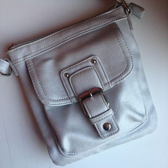 Small Silver handbag