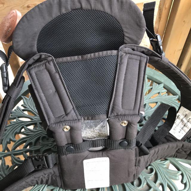 3f3b53e3862 Snugli Baby Carrier 7-26 lbs Evenflo Grey Black