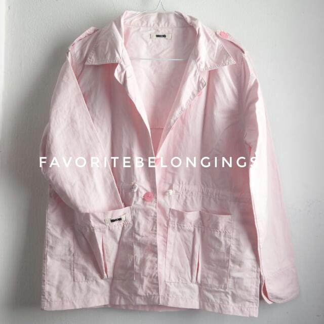 Soft Pink Parka