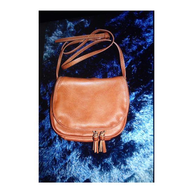Stradivarius Mini Bag With Tassel Detail