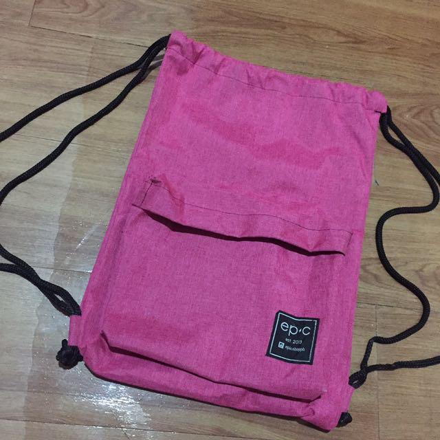 String Bag Pink