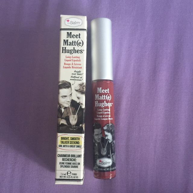 The Balm Meet Matt(e) Hughes Liquid Lipstick