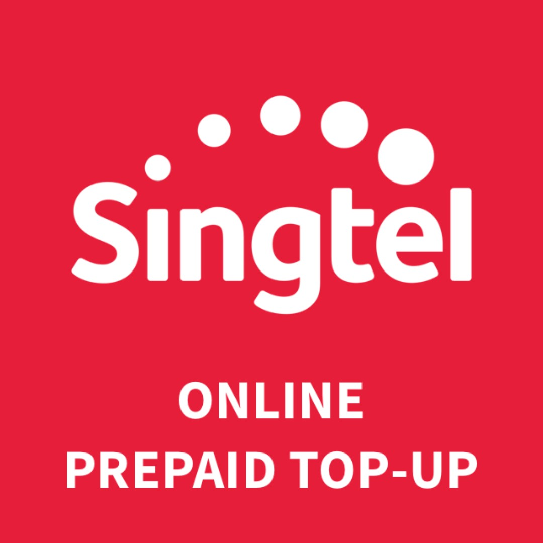 Top up now, pay 30 days later. Singtel Prepaid Top-up