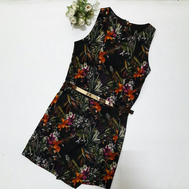 🌿Tropical Ivy Black Jumpsuit🌿