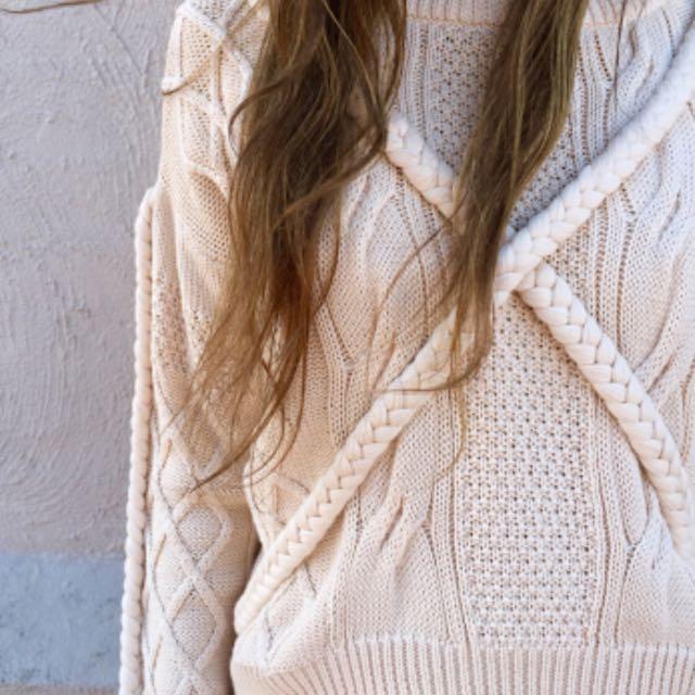 Viktoria And Woods plait sweater