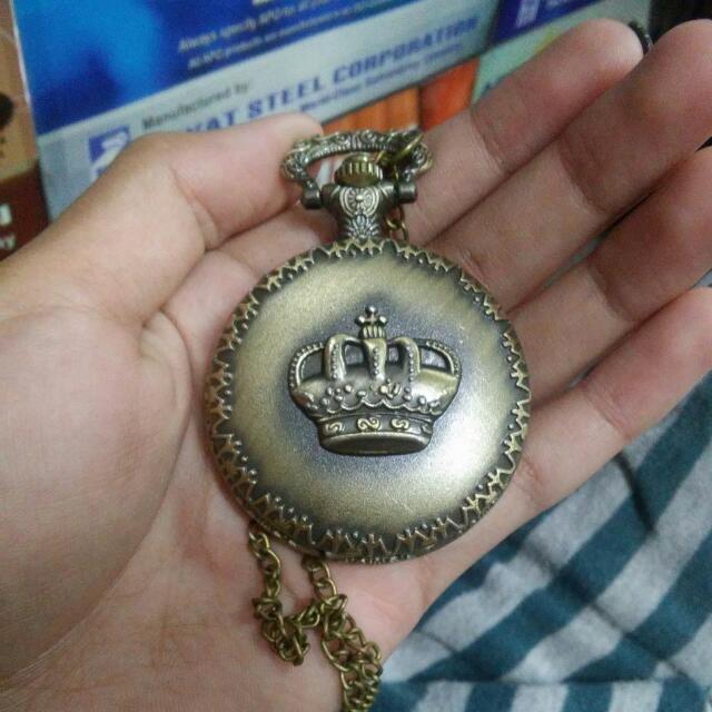 Vintage Pocket Crown watch