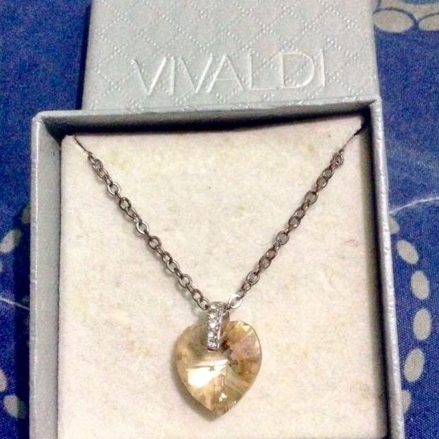 Vivaldi Heart Pendant