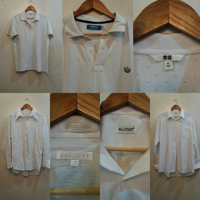 White Polo And Polo Shirt 4-Piece Bundle