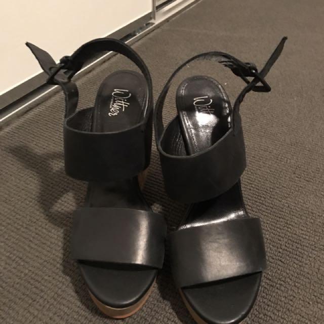 Wittner Wedge Heel Size 8